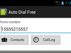 Auto Dial Free 1.7.2 Screenshot