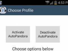 Auto Launch Pandora Plus 3.2 Screenshot