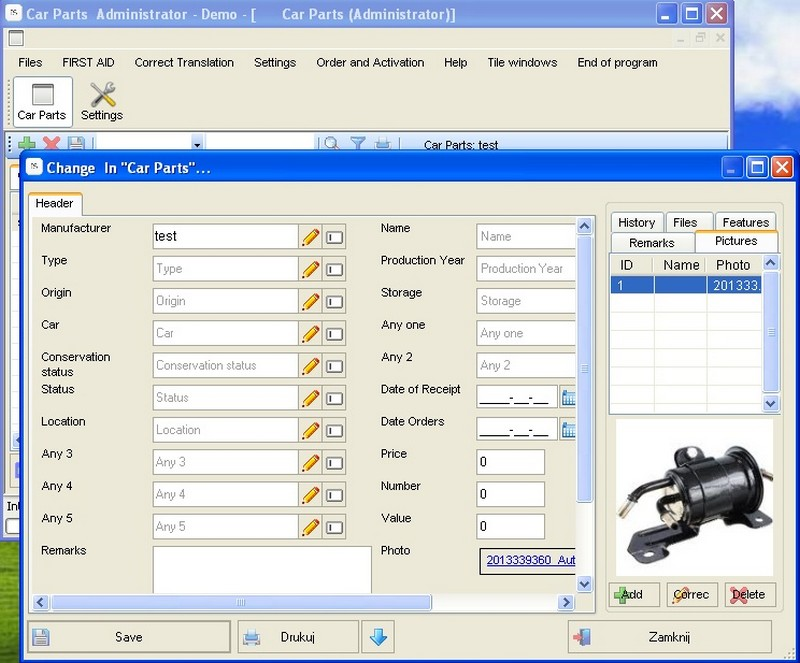 auto parts 14 0 1 free download