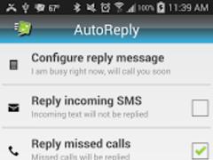 Auto Reply Sms/Calls 4.2.6 Screenshot