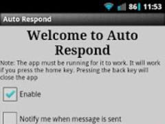 Auto Response Paid 1.00 Screenshot
