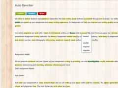 Auto Rewriter 1.0 Screenshot