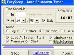 Auto Shutdown Timer - EasySleep 3.0.0 Screenshot