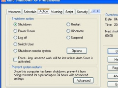 Auto ShutDown XP Professional 2003 Screenshot