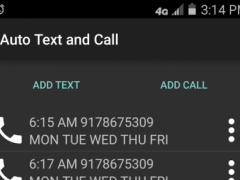 Auto Text and Call 1.01 Screenshot