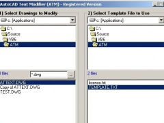 AutoCAD Text Modifier 2.0 Screenshot