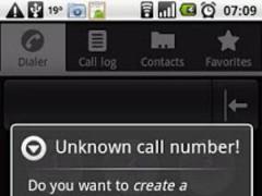 AutoContact contact adder Full 1.7 Screenshot