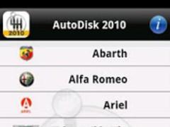 AutoDisk 2010 Car Specs & Pics 1.0 Screenshot