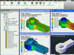 AutoFEM Static Analysis 1.7 Screenshot