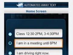 Automated Away Text 1.1 Screenshot