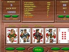 Automatic video poker 4.8 Screenshot