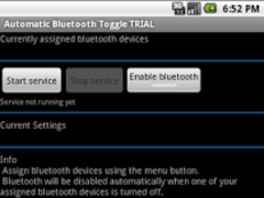 AutomaticBluetoothToggle TRIAL 5.8.0 Screenshot