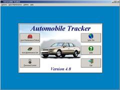 Automobile Tracker 7.5 Screenshot