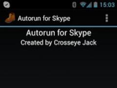 Autorun for Skype 1.2.0b Screenshot