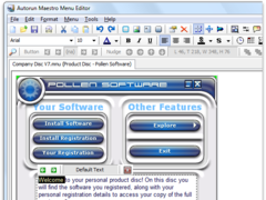 Autorun Maestro 8.1 Screenshot