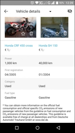 AutoScout24 – used car finder