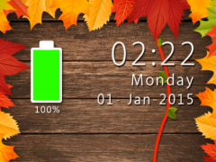 Autumn Go Locker Theme 1.02 Screenshot