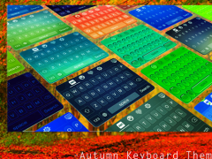 Autumn Keyboard Theme Emoji 1.4 Screenshot