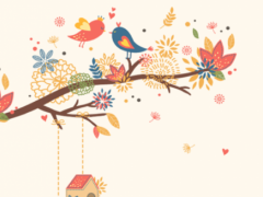 autumn leaves Dodol Theme 4.1 Screenshot