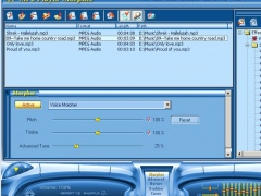 AV MP3 Player Morpher 4.0.81 Screenshot