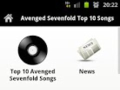 Avenged Sevenfold Top 10 Songs 3.0 Screenshot