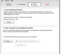 Averatec Notebook WiFi Router 8.6 Screenshot