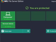 AVG File Server Edition 2016 Screenshot