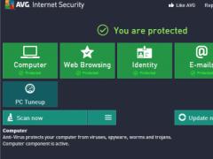 AVG Internet Security 2013.0.2667 Screenshot