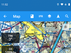 AviNavi, navigation for pilots  Screenshot