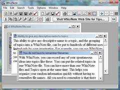 AvniTech WhizNote 3.5.8 Screenshot