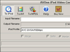 AVOne iPod Video Converter 4.23 Screenshot