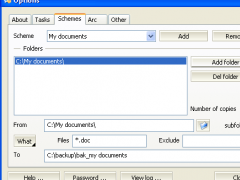 AWbackup 3.1.0 Screenshot