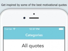 Awesome Motivational Quotes (AMOQ) - Get inspired by some of the best Inspirational and Motivational Quotes 2.1 Screenshot
