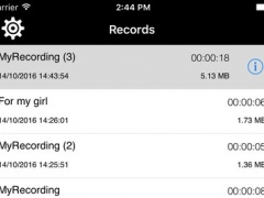 Awesome Recorder - Great app to record your voice 1.0 Screenshot