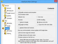 AweSync.Mail 2.5.0 Screenshot