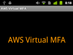 AWS Virtual MFA 1.0 Screenshot