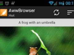 AwwBrowser 1.1.1 Screenshot