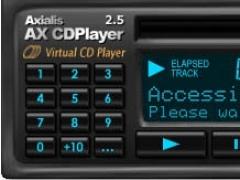 Axialis AX-CDPlayer 2.61 Screenshot