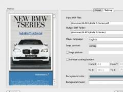 aXmag Page Flip Creator for Mac 1.0 Screenshot