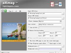 aXmag PDF to Flash Converter 1007 Screenshot