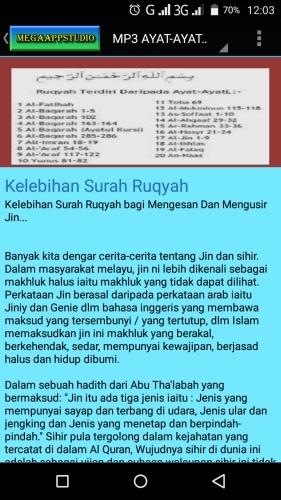 Ayat-Ayat Ruqyah - MP3 1 0 Free Download