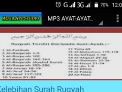 Review Screenshot - Best Ruqyah MP3 App on the Play Store!