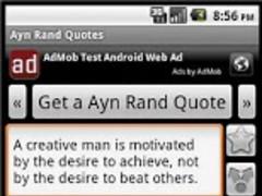 Ayn Rand Quotes 1.0 Screenshot