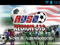 AYSO Region 613 1.1 Screenshot