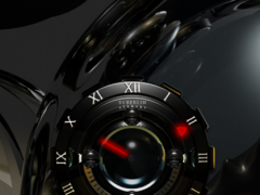 B D Analog Clock Widget 2.51 Screenshot