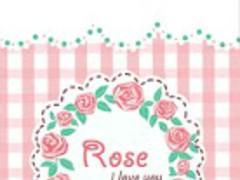 B-ROSE GO LAUNCHER THEME  Screenshot