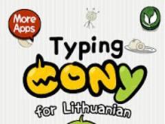 [B]TypingCONy 4 Lithuanian 1.01 Screenshot