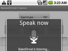 BabelDroid Classic 2.0.1 Screenshot