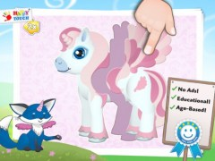 Baby Apps - Pony Puzzle (2 Parts) 1+ 1 Screenshot