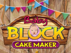 Baby Block Cake Maker - Make a cake with crazy chef bakery in this kids cooking game 1.0 Screenshot